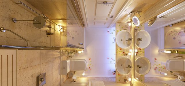 Awesome Bathroom Interior Project